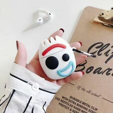 For Apple Airpods CartoonToy soft Wireless Bluetooth Earphone Case charging box