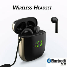 TWS Wireless Bluetooth Headset Earphone Earbuds In-Ear Stereo IPX5 CVC3.0 WK60