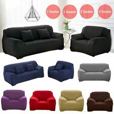 1/2/3 Seater Elastic Sofa Covers Slipcover Settee Stretch Couch Protector JS054