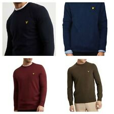 LYLE AND SCOTT CREW NECK LONG SLEEVE JUMPER FOR MEN'S