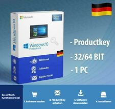 MS Windows 10✓Pro. 32/64bit Office 2016/2019 LIZENZ-KEY LINK PER EBAY NACHRICHT