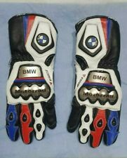 BMW Motorrad MotoGp Genuine Leather Motorbike Racing Gloves All Size Available