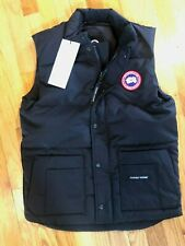 NEW CANADA GOOSE MENS FREESTYLE VEST MENS BLACK 4154M DOWN FREE SHIP