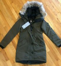 NEW CANADA GOOSE ROSSCLAIR PARKA COAT WOMENS GREEN 2580L COYOTE DOWN FREE SHIP
