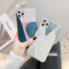 Fashion Geometric Silicone iPhone Case Cover For iPhone X/XS Max XR 11 Pro Max