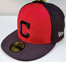 """CLEVELAND INDIANS MLB New Era 59FIFTY """"C"""" 2-Tone Authentic FITTED/SIZED CAP New!"""