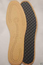 New Leather Embossed Deo Insoles Unisex Shoes Boots