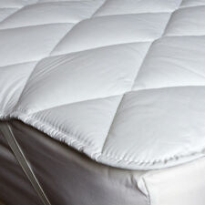 Box Stitched Mattress Topper Cotton Blend Diamond Quilted Single,Double,King