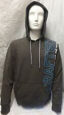 CRAFTED MENS BOYS CRD OUTLINE HOODY GREY JUMPER TOP MENS HOODIE S,M,L NEW