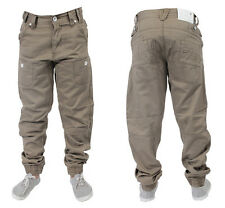 NEW BOYS ETO JEANS EB170 BEIGE CUFFED CHINOS *REDUCED BARGAIN SALE PRICE* BNWT