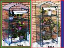 3/4 TIER MINI PLANTS GREEN GROW HOUSE METAL FRAME WITH PVC COVER SEED GREENHOUSE