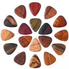 TIMBER TONES WOODEN GUITAR PLECTRUM / PICK MADE FROM CHOICE OF EXOTIC WOODS NEW!