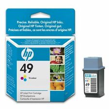 Genuine HP49 51649AE Tri-Colour Printer Ink Cartridge for HP Deskjet 697c & more