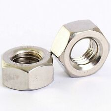 M1.6M2 M2.5 M3 M3.5 M4 M5 M6 M8 M10 M12 A2 STAINLESS STEEL HEXAGON HEX FULL NUTS