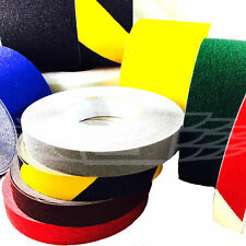ANTI SLIP NON SKID TAPE HIGH GRIP STICKY BACKED ADHESIVE FLOOR SAFETY ALL COLOUR