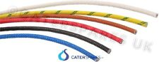 heat resistant 2.5mm fibreglass wire appliance cable high temp spares 10 METER
