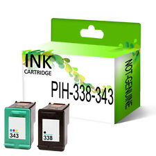 Remanufactured Generic Ink Cartridge Replace For 338 & 343