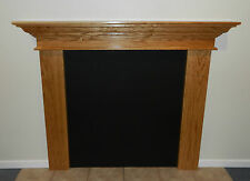 Contemporary Fireplace Mantle Mantel Shelf Oak Cherry Maple Poplar U Pick Size