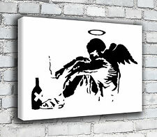 Banksy Canvas - Fallen Angel