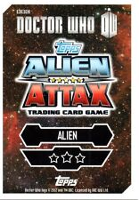 Dr Who Alien Attax Trading Cards 049 - 099 Cards Choose Your Card