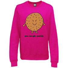 ONE TOUGH COOKIE WOMENS PRINTED SWEATSHIRT JUMPER