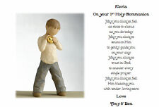 1st First Holy Communion Personalised Poem - A keepsake of their Day - Boy/Girl
