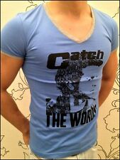 Catch the Word PARTY CLUBWEAR DEEP V-NECK  T-SHIRT BY CATCH