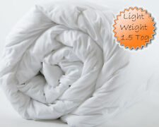 Premium Super Soft Microfibre 1.5 tog Like Down Duvet Quilt - Made in the UK!