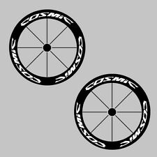 Mavic Cosmic Bike Deep Rim Carbon Wheel Decal Sticker Kit