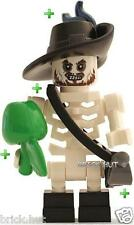 LEGO PIRATES OF THE CARIBBEAN - SKELETON BARBOSSA FIGURE + FREE GIFT - NEW