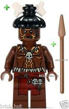 LEGO PIRATES OF THE CARIBBEAN - CANNIBAL 1 FIGURE + FREE SPEAR - BESTPRICE - NEW