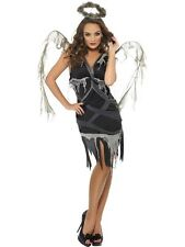 Dark Fallen Angel Fancy Dress Costumes