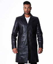 Giacca Giubbotto Pelle Uomo Men Leather Jacket Veste Blouson Homme Cuir MATRIX