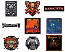 Megadeth Sew On Patch/Patches choice of 9 designs NEW OFFICIAL
