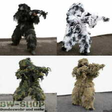 GHILLIE SUIT TARNANZUG ANTI FIRE NIGHTFIGHTER SNOW WOODLAND DESERT PAINTBALL BW