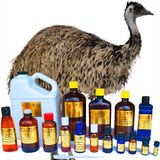 Emu Essential Oil - 100% PURE NATURAL - Triple Filtered - Sizes 3 ml to 8 oz