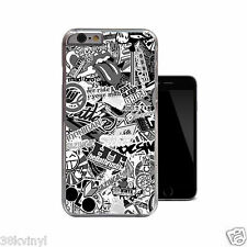 JDM DUB Stickerbomb Case Cover for iPhone 4 4s 5 5s 5c 6