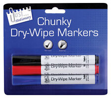 Dry Wipe Markers White Board Markers Marker Pens Non Toxic Bullet Tip Office NEW