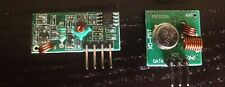 433MHz 315MHz DC5V ASK /OOK RF WIRELESS TRANSMITTER & RECEIVER MODULE ARDUINO