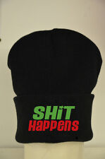 Sh*t Happens Beanie Lots Of Colours - Custom Hat Gift cocaine and caviar