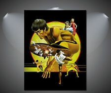Bruce Lee Game of Death Vintage Movie Poster - A1, A2, A3, A4 sizes