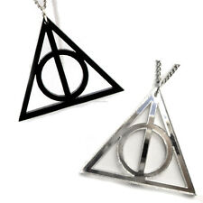 Ciondolo Harry Potter i Doni della Morte + Collana Pendente Deathly Hallows