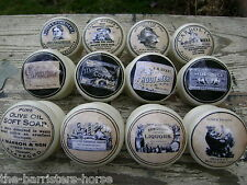 CREAM CUPBOARD DOOR/DRAWER KNOBS/HANDLES, SHABBY CHIC VINTAGE ADVERTISEMENTS