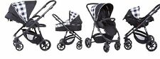 Baby Pushchair Pram Buggy Carrycot Child Travel system 3in1 Car Seat Stroller