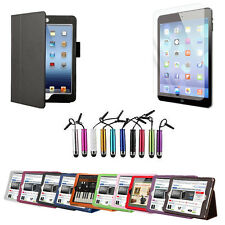 Leather Case Cover Stand for Apple iPad Air 5 FREE Screen Protector Stylus Pen