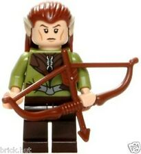 LEGO LORD OF THE RINGS - MIRKWOOD ELF GUARD FIGURE + FREE CROSS BOW - FAST - NEW