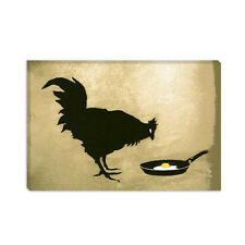 Chicken & Egg Banksy Canvas Print Painting Reproduction