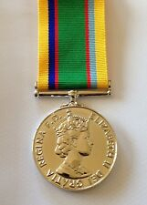 Cadet force full size medal loose court or swing mounted for Army emergency reserve decoration
