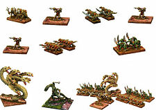 15mm Fantasy Miniatures-Unpainted Lizardmen-15mm 'HOT' Miniatures-Multi-Listing