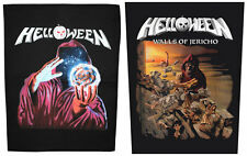 Helloween Back Patches NEW OFFICIAL Keeper Of The Seven Keys or Walls of Jericho